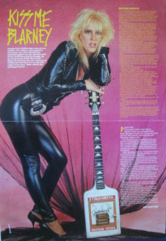 Lita Ford Posters Magazines